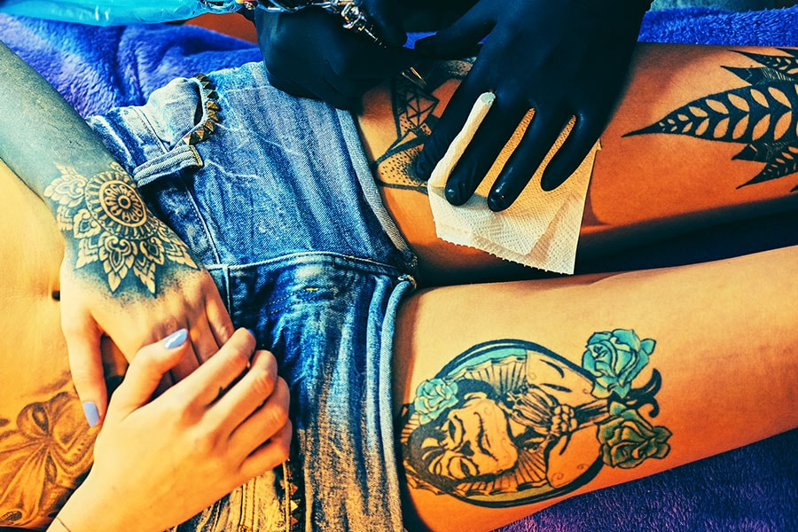 What is the Best Process of Colorful Tattoos Making?